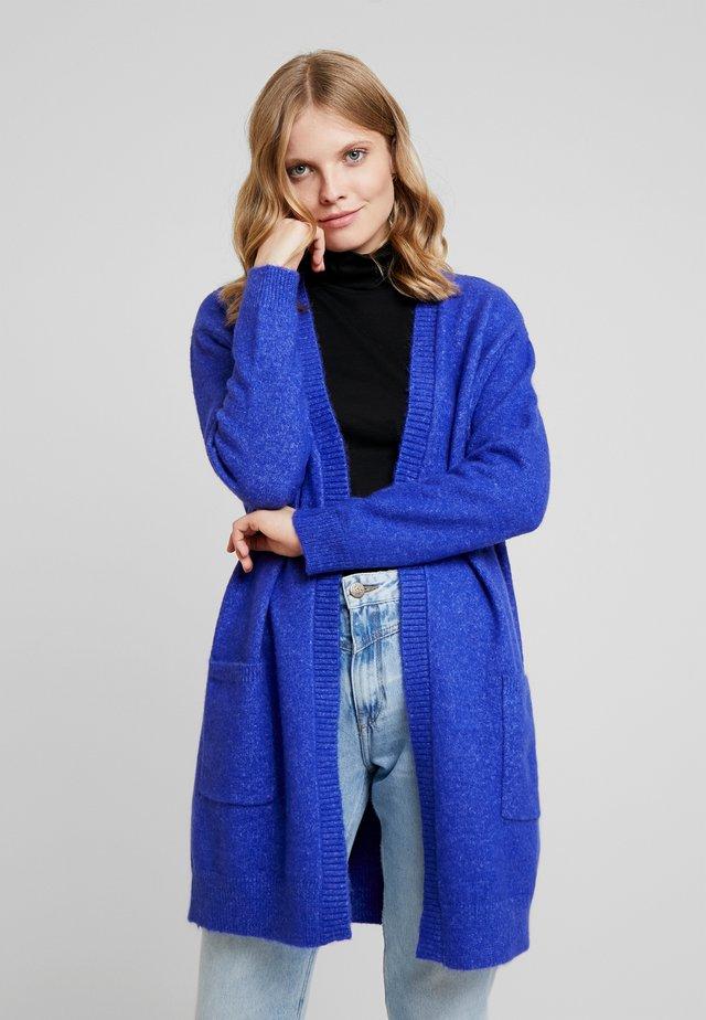 GWEN CARDIGAN - Neuletakki - roya blue