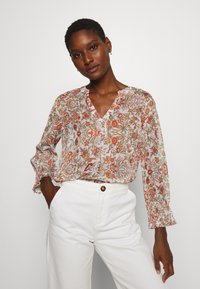 Cream - DANICR BLOUSE - Blouse - red - 0