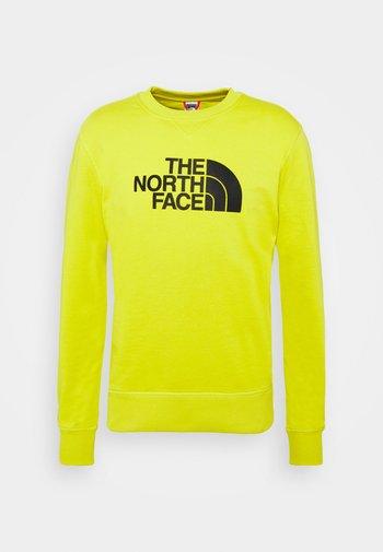 DREW PEAK CREW LIGHT - Sweater - citronellegreen