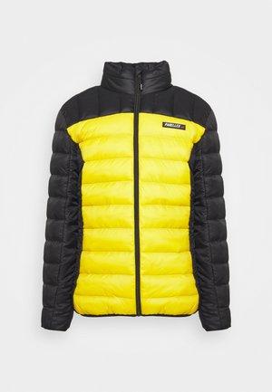 HYPER JACKET - Light jacket - black/ mustard