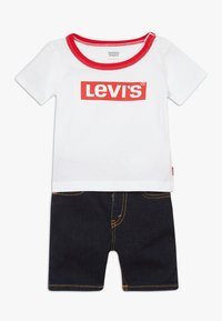 Levi's® - STRETCH SET - Szorty jeansowe - white - 0