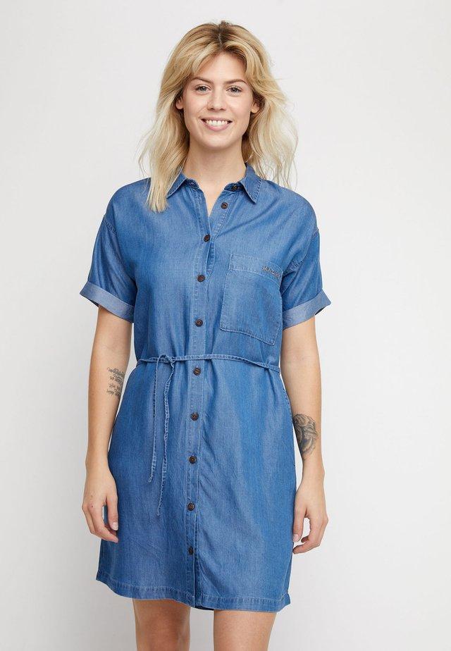 ELMA - Denim dress - dark blue