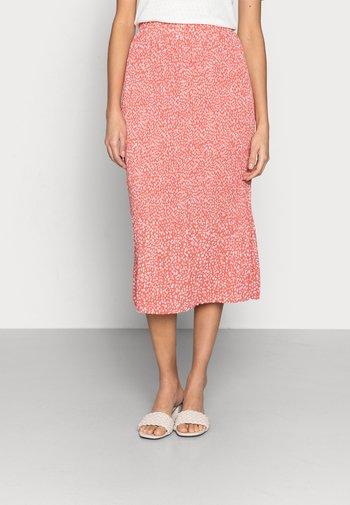 CLOVER SKIRT - Plisovaná sukně - faded rose