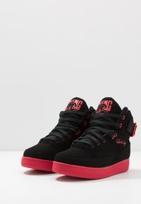 Ewing - 33 HI BASKETBALL - Skate shoes - black /chinese red - 2