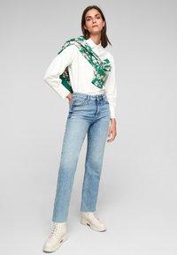 s.Oliver - REGULAR - Straight leg jeans - blue - 1