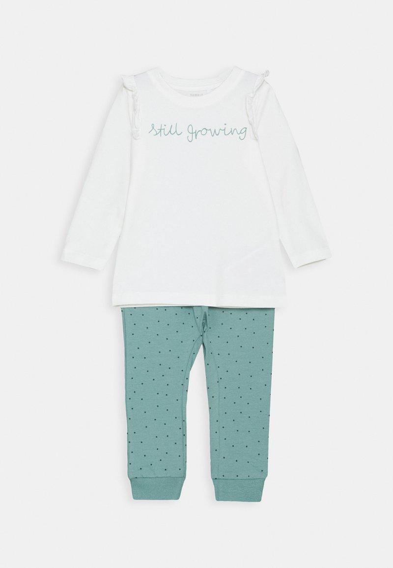 Name it - NBFLOTUS TOP SET - Leggings - Trousers - snow white