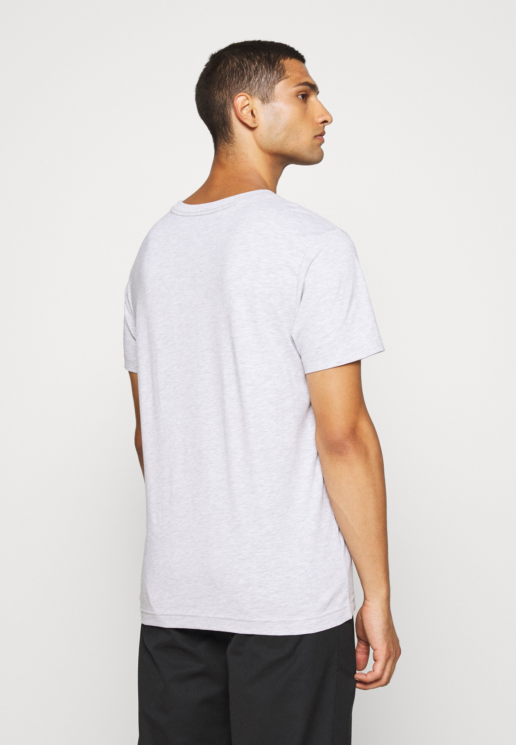 Weekday RELAXED  - Basic T-shirt - grey melange 8IBXL
