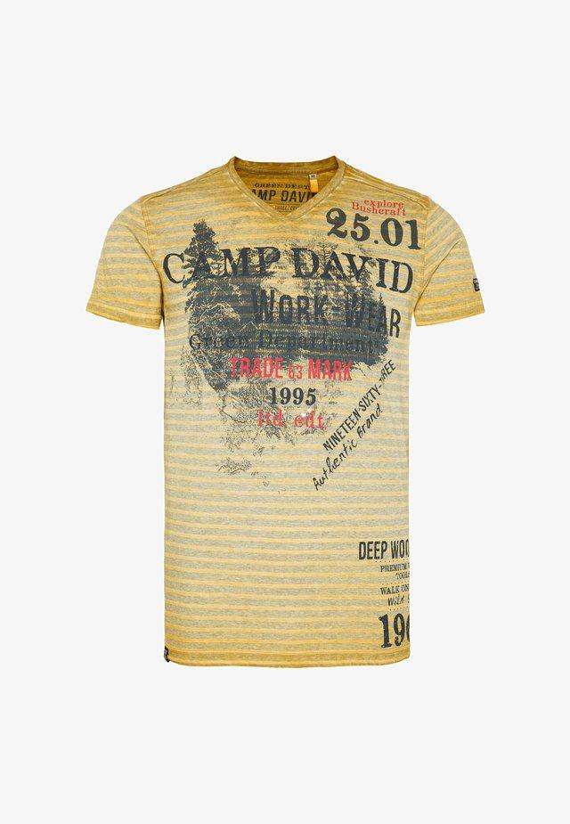 Print T-shirt - rising sun