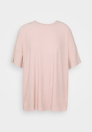 T-shirt basic - pale mauve