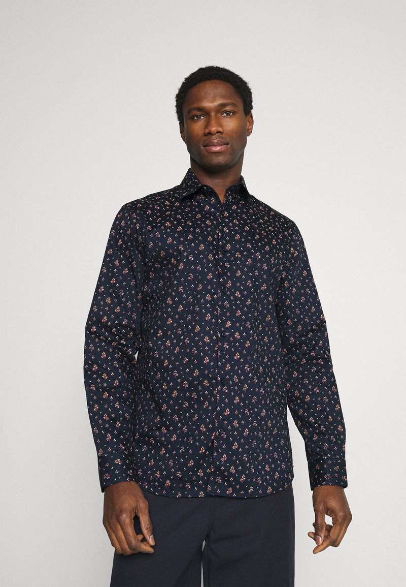 Selected Homme - SLHSLIMNEW MARK - Shirt - dark blue