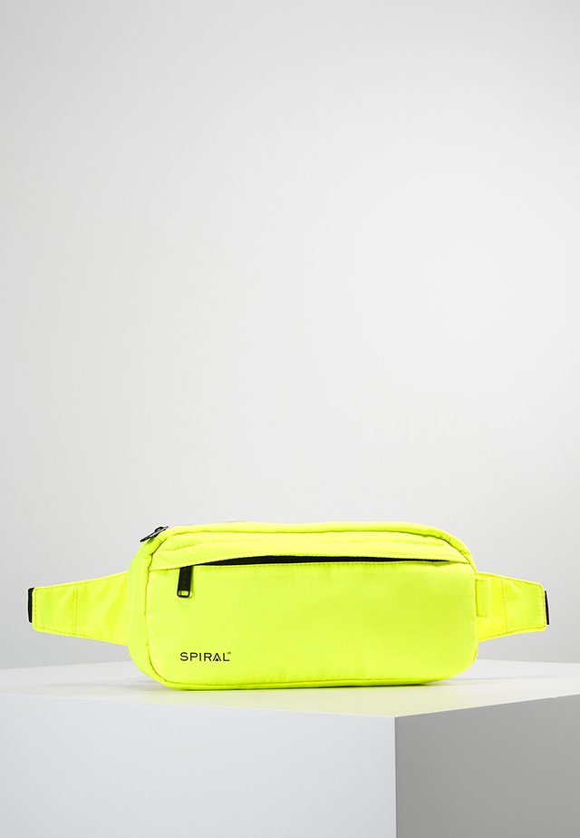 CROSSBODY BUM BAG - Riñonera - neon yellow