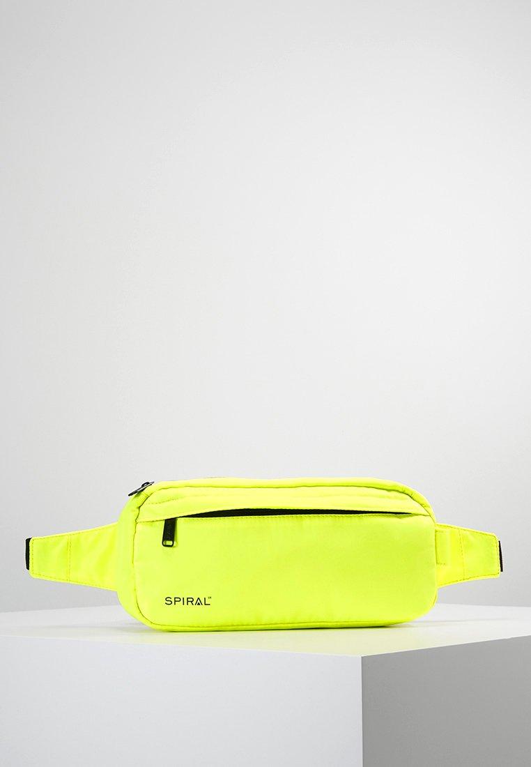 Spiral Bags - CROSSBODY BUM BAG - Ledvinka - neon yellow