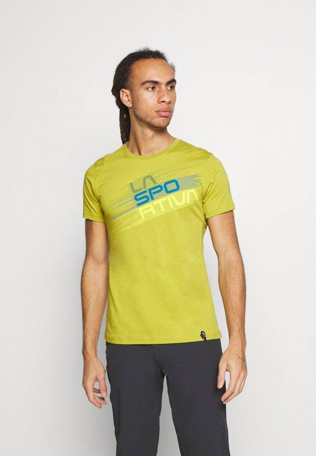STRIPE EVO - Camiseta estampada - kiwi