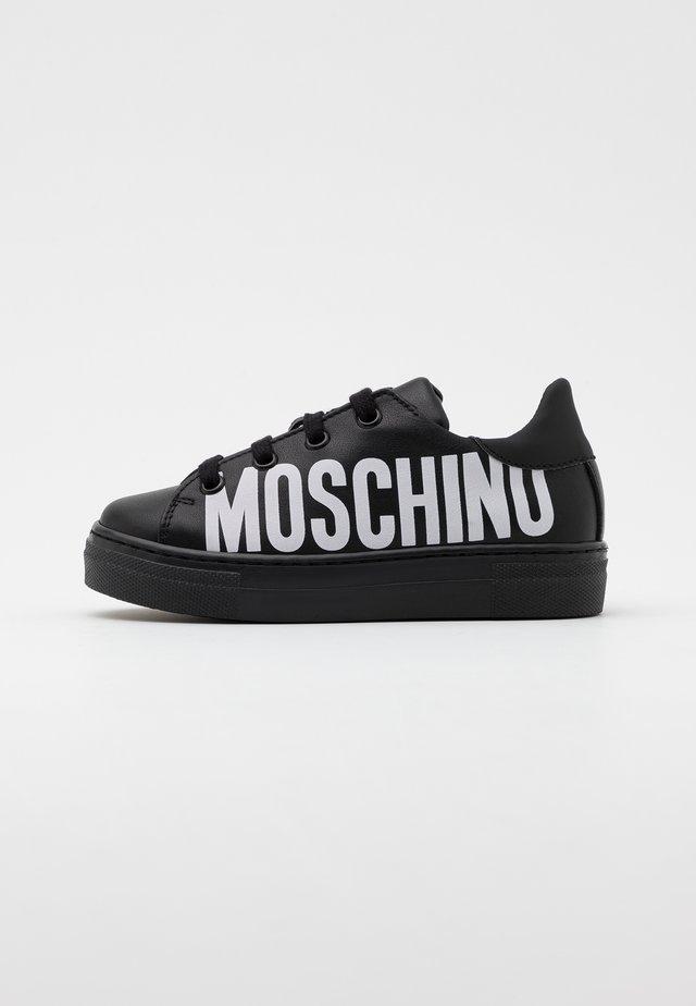 UNISEX - Sneakers hoog - black/white