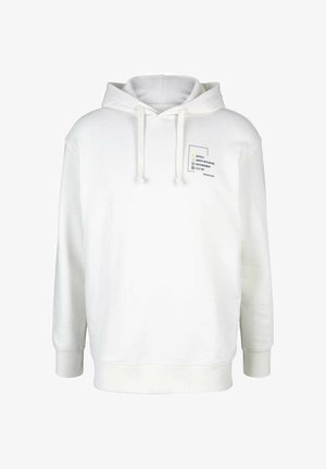 Hoodie - soft clear white