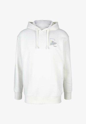 Kapuzenpullover - soft clear white