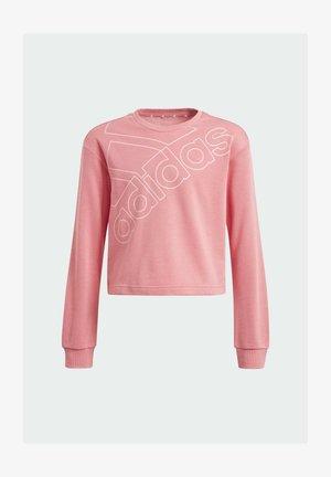 ADIDAS ESSENTIALS LOGO SWEATSHIRT - Jersey de punto - pink