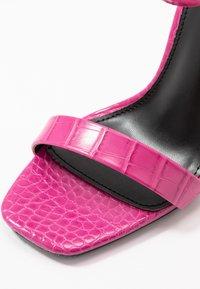 BEBO - ALARA - Sandaler med høye hæler - fuchsia - 2