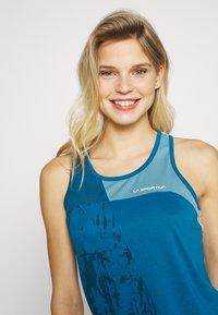La Sportiva - CHEMISTRY TANK - Treningsskjorter - neptune/pacific blue - 3