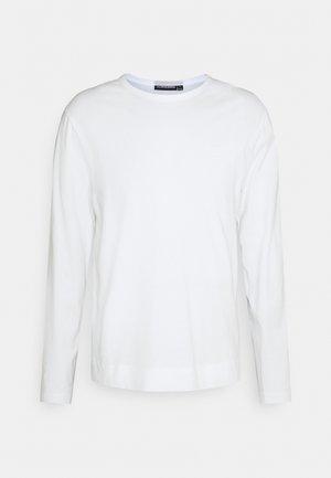 CHARLIE LONG SLEEVE - Maglietta a manica lunga - white