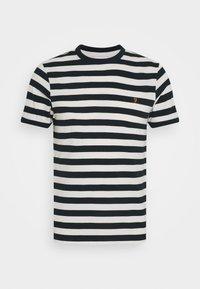 BELGROVE STRIPE - Print T-shirt - ecru