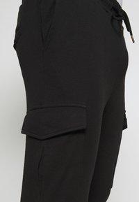 Brave Soul - ROCKERPLAIN - Cargo trousers - black - 3