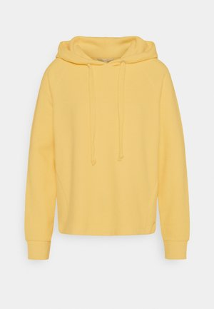 BRUSHED HOODIE - Sweat à capuche - honey popcorn