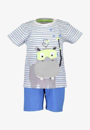 CAPTAIN HIPPO - Shorts - blau aop