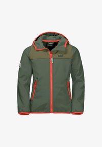 Jack Wolfskin - FOURWINDS  - Soft shell jacket - thyme green - 0