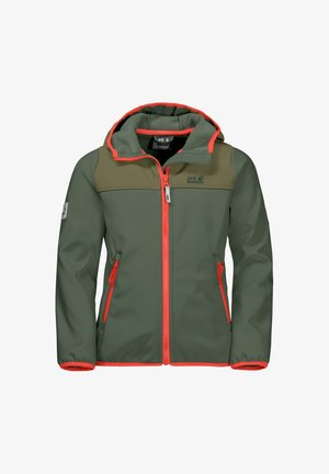 FOURWINDS  - Soft shell jacket - thyme green