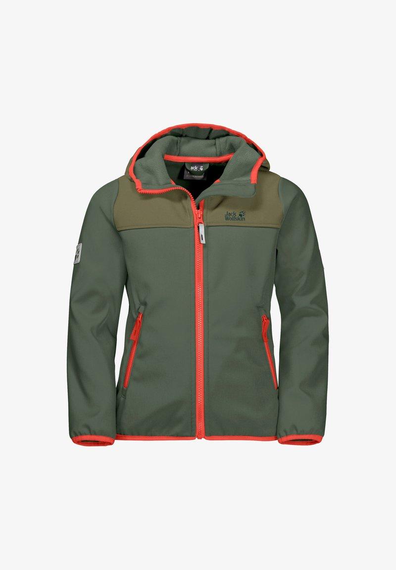 Jack Wolfskin - FOURWINDS  - Soft shell jacket - thyme green