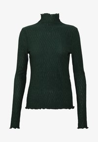 BARBARA LONG SLEEVE - Long sleeved top - bottle green