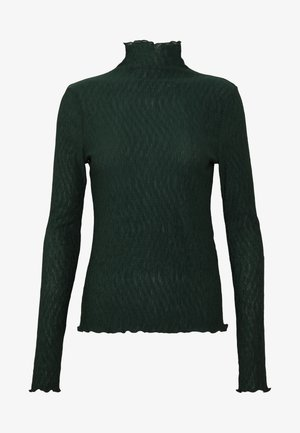 BARBARA LONG SLEEVE - Long sleeved top - bottle green