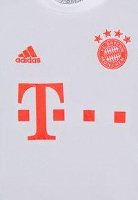 adidas Performance - FC BAYERN MUENCHEN AEROREADY FOOTBALL UNISEX - Club wear - mottled grey - 3