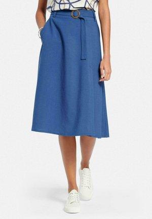 A-line skirt - meerblau