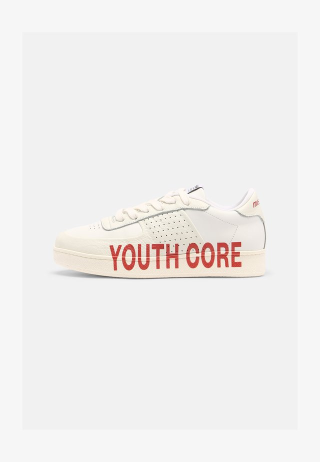 YOUTH CORE CITY UNISEX - Trainers - white