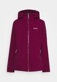 Regatta - WENTWOOD 2-IN-1 - Outdoor jacket - purpot - 3