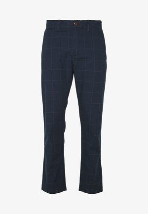 SPRING MENSWEAR TROUSER - Trousers - navy