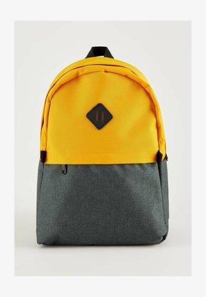 SCHOOL - Rucksack - yellow