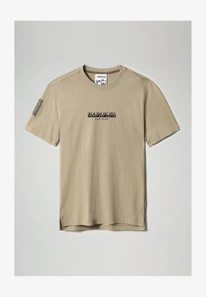 S-OAHU - Print T-shirt - silver sage