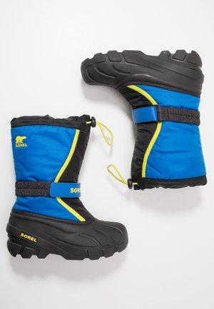 YOUTH FLURRY - Zimní obuv - black/super blue