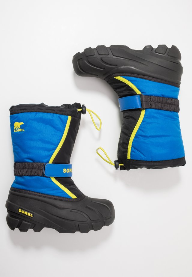 YOUTH FLURRY - Snowboot/Winterstiefel - black/super blue