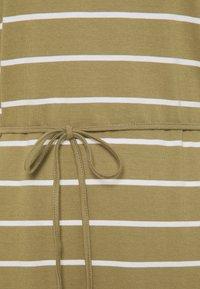 edc by Esprit - CRISPY DRESS - Jersey dress - light khaki - 2