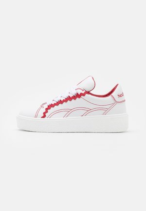SEVY - Trainers - medium red