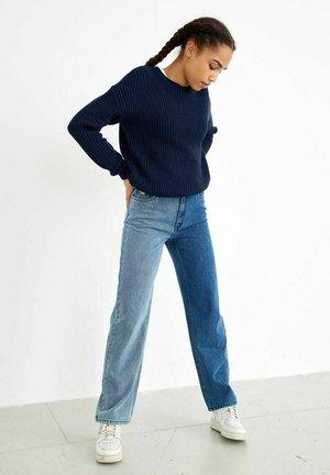 Jeans a sigaretta - medium blue denim