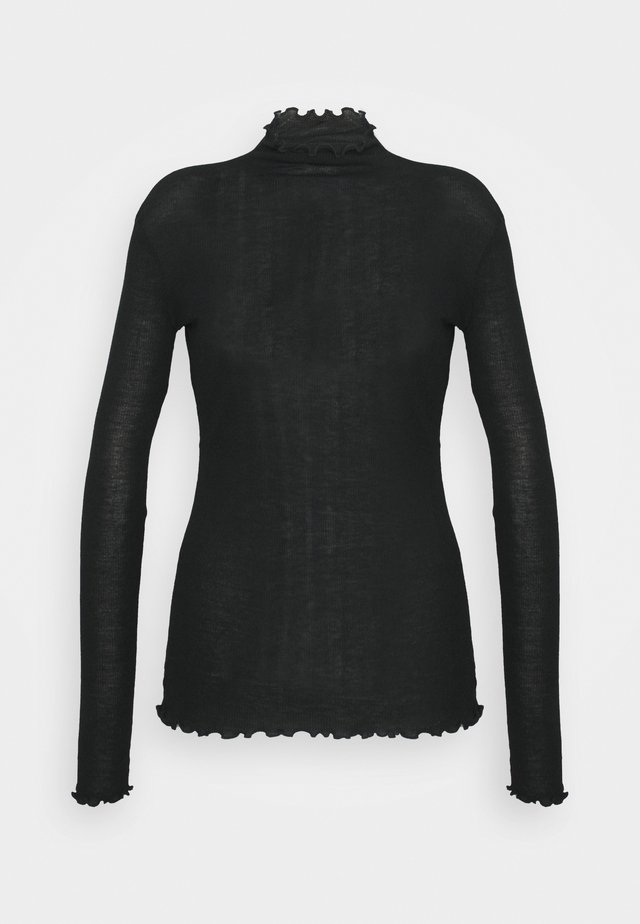CUSCINO - Long sleeved top - black