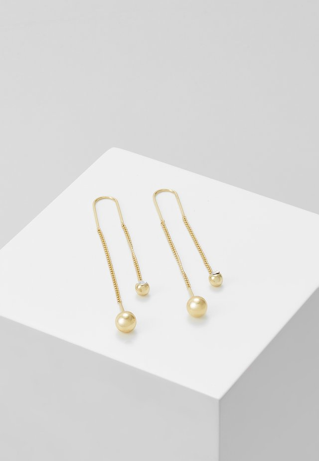 EARRINGS - Náušnice - gold-coloured