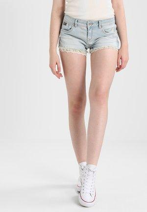 Denim shorts - canyon tint