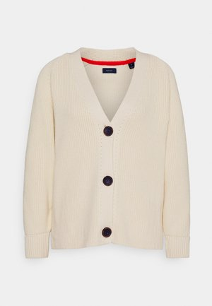 DETAIL SLEEVE - Cardigan - cream