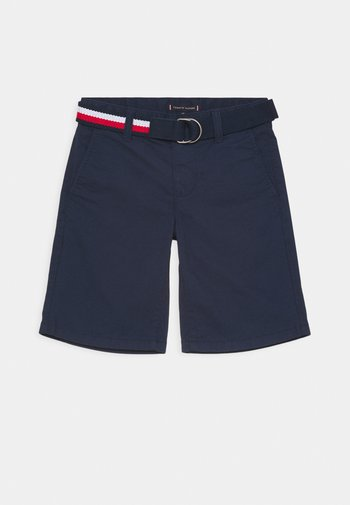 ESSENTIAL BELTED - Shorts - twilight navy